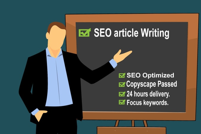 write 500 words SEO friendly article on any topic, blog post