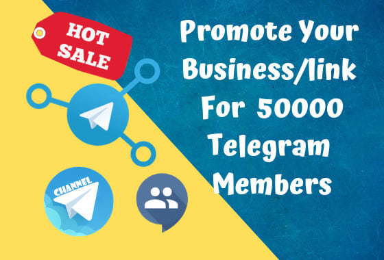 promote your business and links on telegram
