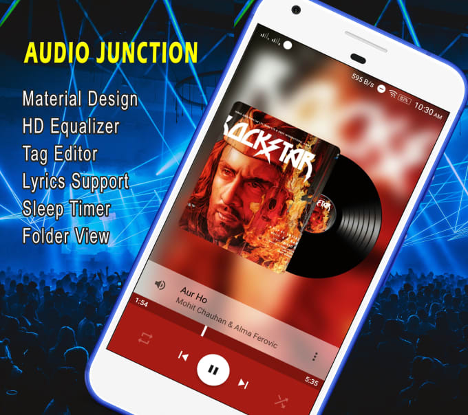 Sleep Music Android Mobile App | Swiftexample