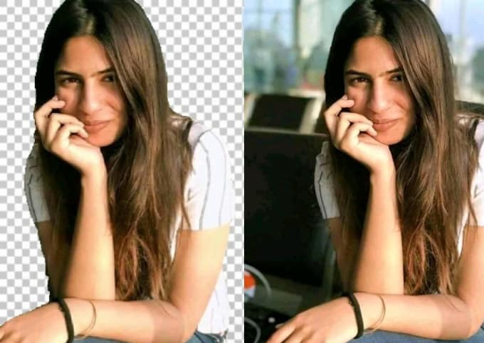 remove background from 5 images or products in only 1 hour