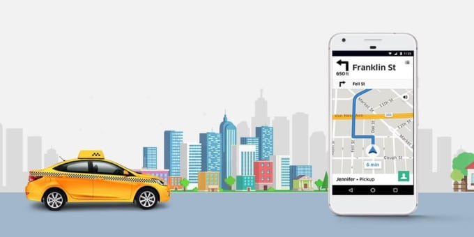 make a taxi android app like uber