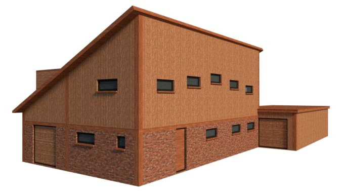 create sketchup 3d model of products or architecture