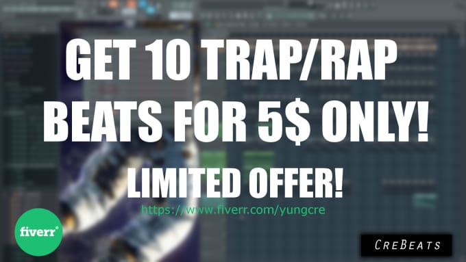 make you ten rap beats