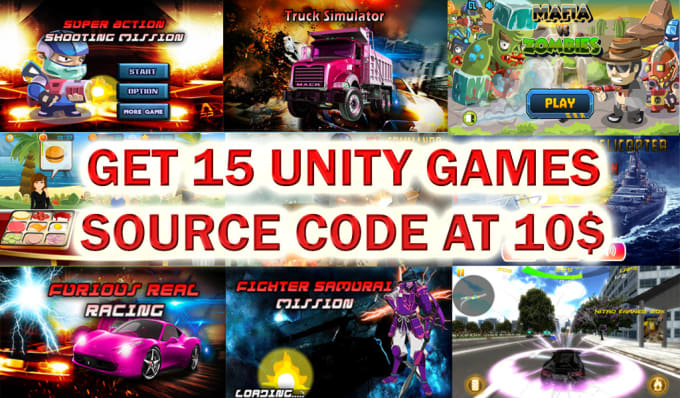 Unity Source Code Games