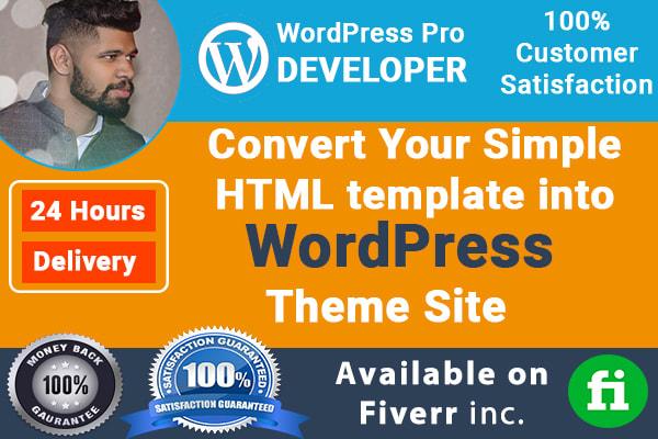 Easiest way to convert html template into wordpress theme youtube.