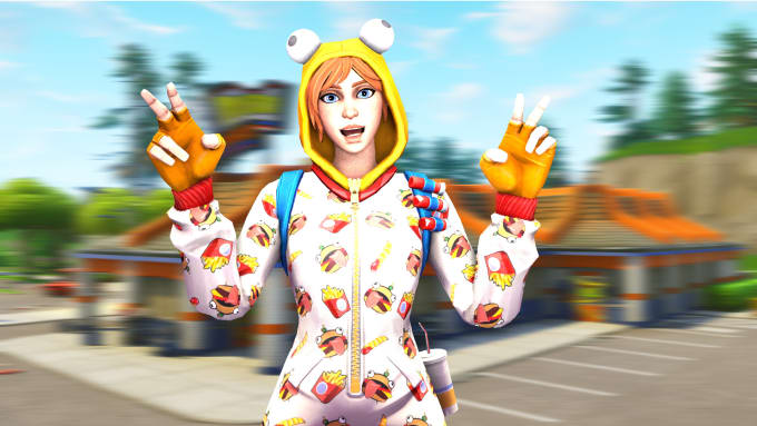Holyfurror I Will Make A 3d Fortnite Thumbnail For You For 5 On Www Fiverr Com