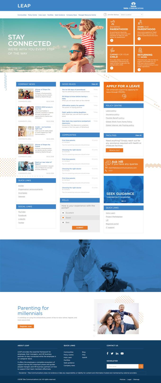 design responsive sharepoint intranet portal