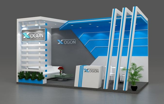 asim_asi : I will design exhibition booth, stall, stand for $5 on  www fiverr com