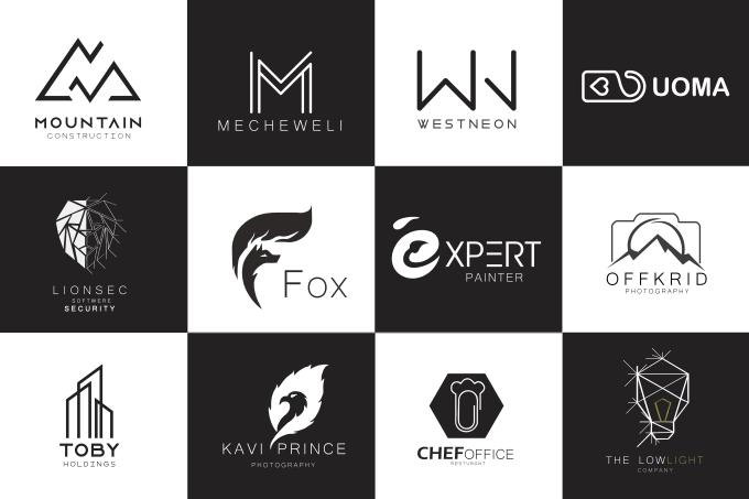 design stunning modern logo for your brand