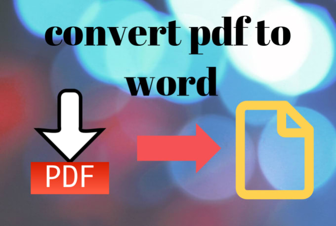 asiriranasinghe : I will convert pdf to word convert mp4 to mp3 word to pdf  for $5 on www fiverr com