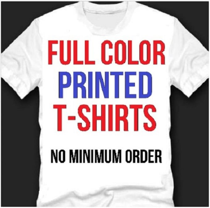 print a custom tshirt for you, free shipping, fast delivery