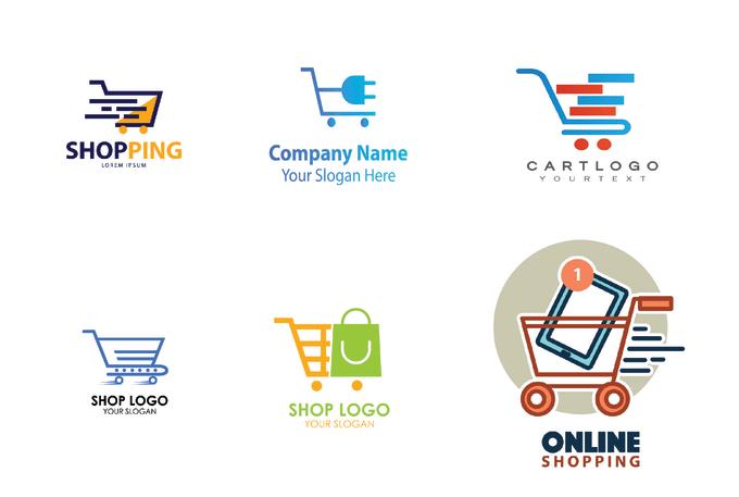 Design Ecommerce Online Store Logo