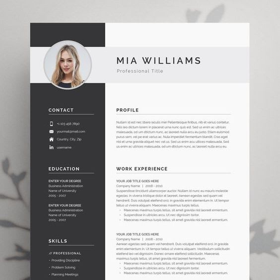 I Will Design A Beautiful CV And Cover Letter For Job