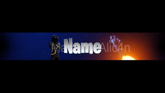 alic4n : I will design a fortnite youtube banner for $5 on www fiverr com