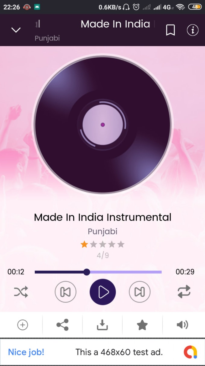 zahiruddin11 : I will sell online music player app with admin panel android  studio for $30 on www fiverr com