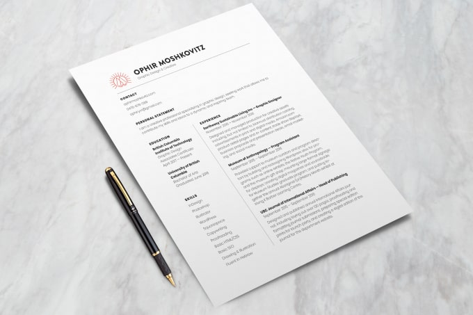 Help You Create An Awesome CV Or Resume