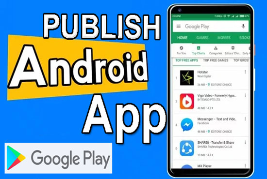 publish your app in my play store account