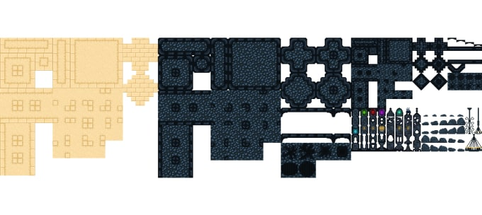 make pixel art tileset for your game