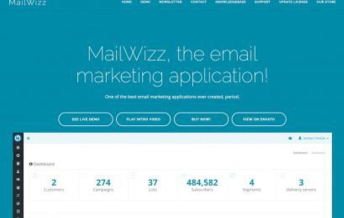 do mailing server setup with interspire or mailwizz