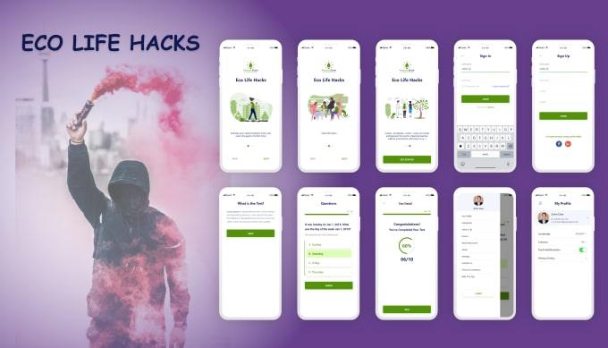rehmanatique : I will design or revamp your mobile app design in adobe xd  or sketch app for $50 on www fiverr com