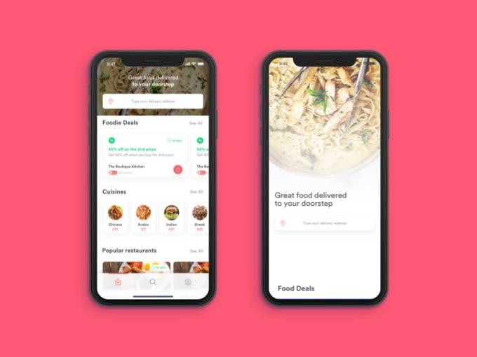 Design Your Restaurant App Agent App Admin App