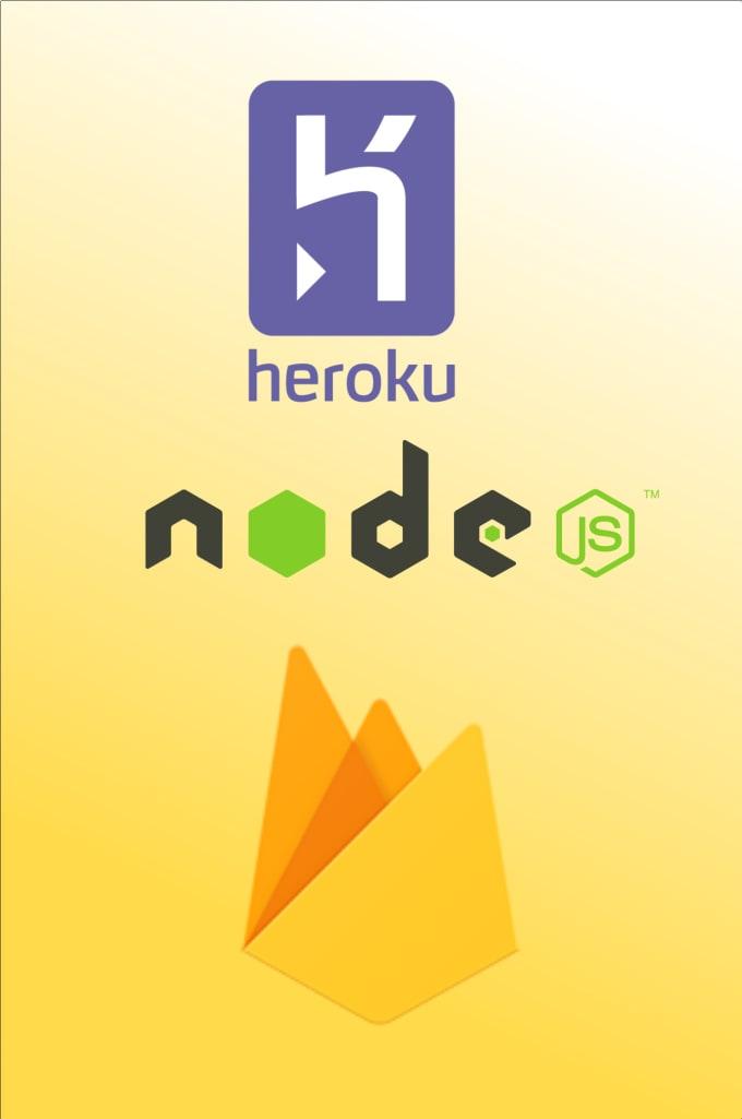 deploy your reactjs or angular project to firebase or heroku