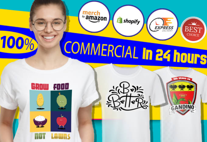 84f03327 Make custom t shirts and trending merch for ecommerce by Serve_greatness