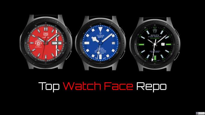 samli4 : I will help you transform your galaxy smartwatch to luxury watch  face for $5 on www fiverr com