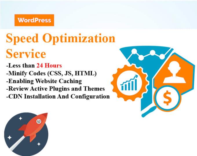 I will wordpress speed optimization service