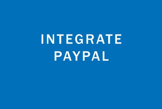 integrate paypal latest api v2