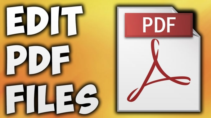Can I Edit A Pdf >> Pjdisharoon I Will Edit Any Pdf File In 30 Minutes Or Less For 5 On Www Fiverr Com