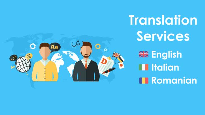 Italian Translation English To Italian: Translate English, Romanian And Italian By Pricootz