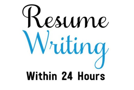 Create your catchy resume or cv or cover letter by Nabeelahmad786