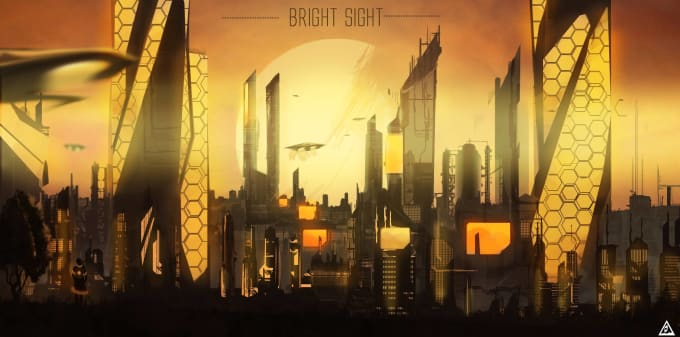 Bright City Concept Art