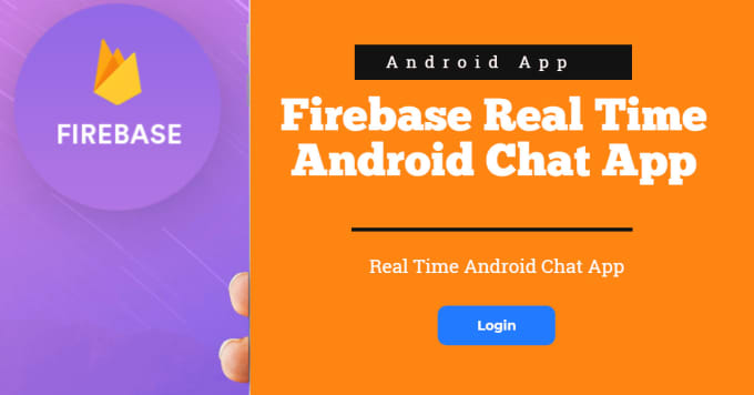 Real time chat app using firebase