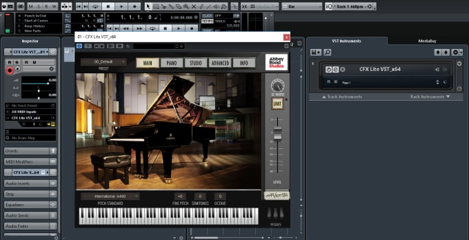 give life to your piano midi files with my HQ vsts