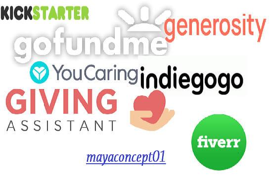 do promotion for indiegogo gofundme kickstarter crowdfunding campaign