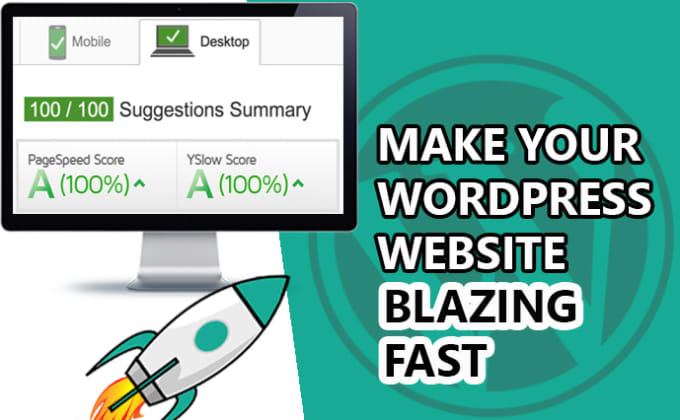 Speed up and optimize wordpress page speed or fix slow admin