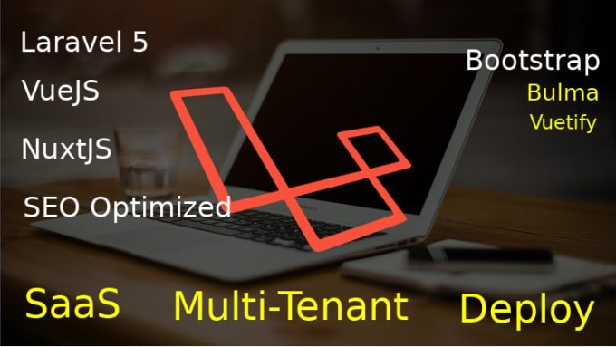fix bug, build php, laravel 5, multitenant or saas web apps