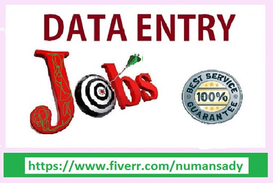 do data entry accurately