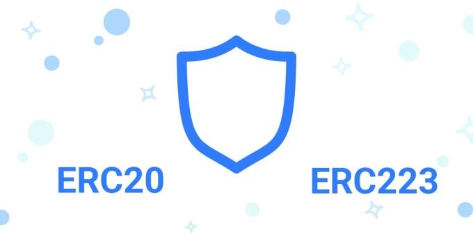create your erc20 or erc223 ico token