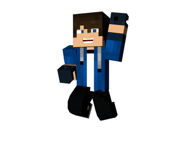 Maxtech I Will Do A 3d Model Of Your Minecraft Skin For 5 On Wwwfiverrcom