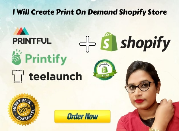 create print on demand shopify store,pod dropshipping store