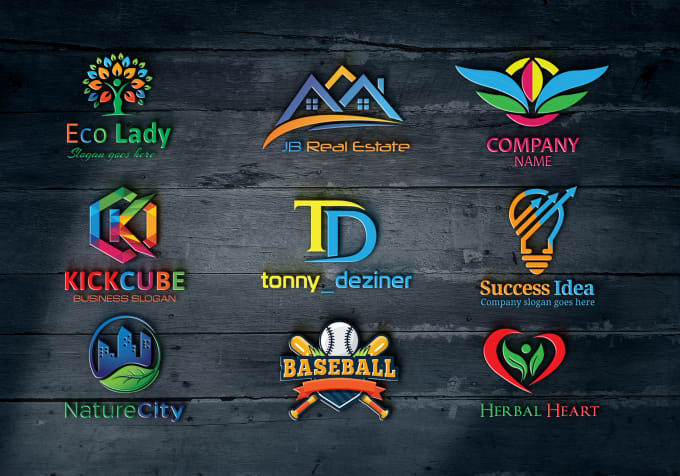 do 2d and 3d business logo in 12 hours