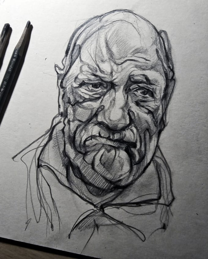 Draw A Creativity Pencil Sketch Drawing From Your Photos