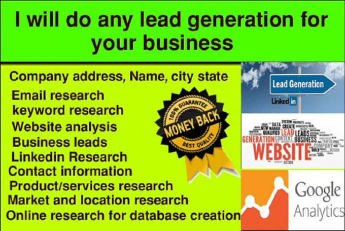 do b2b lead generation and prospect list building