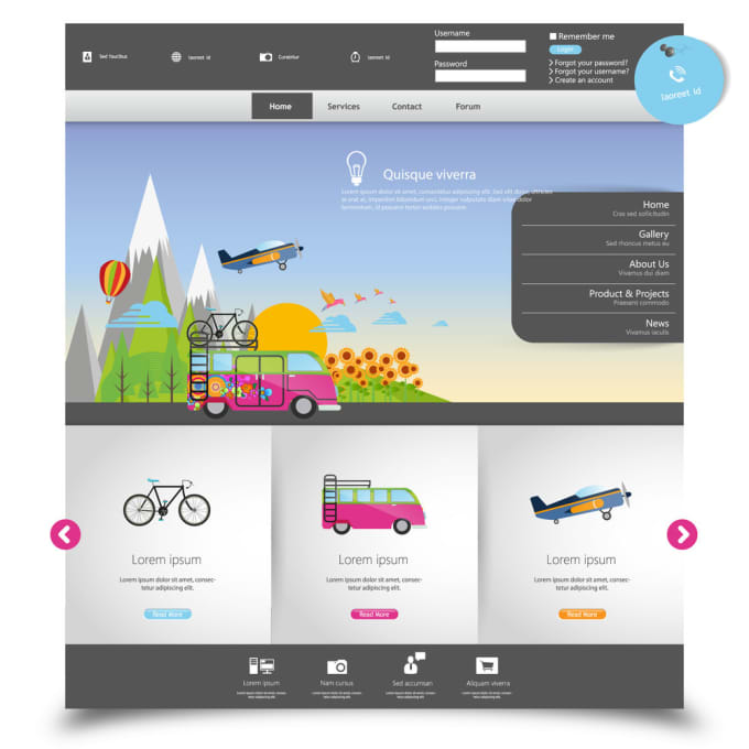 design responsive wordpress website with divi or avada theme