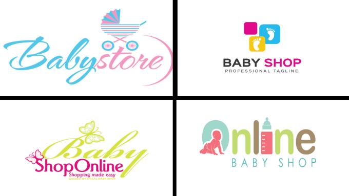 Create Amazing Baby Kids Logo Design