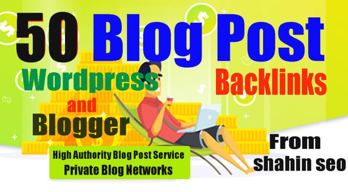 50 pbn blog post links dofollow blogger and wordpress
