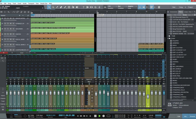 do a professional audio mastering